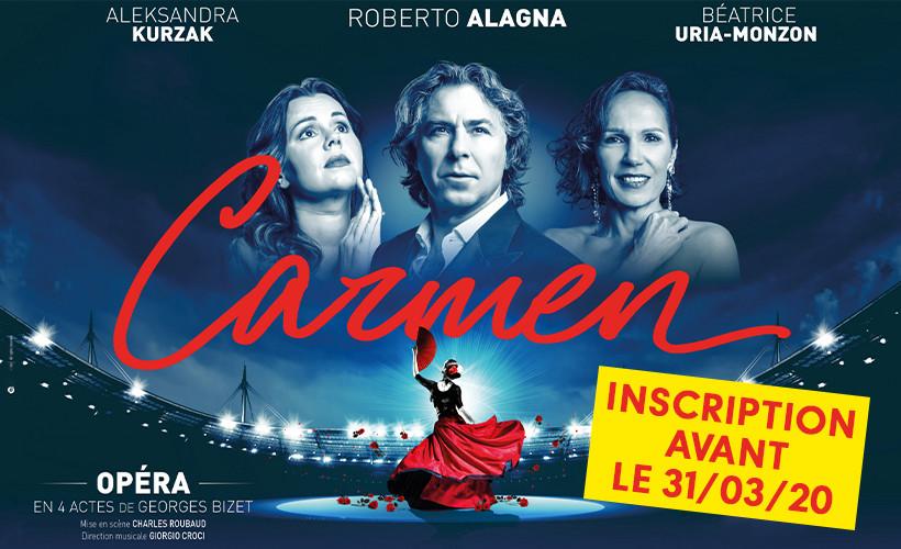 Opéra : Carmen au Stade de France